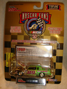 1998 Racing Champions 50 Years of Nascar Fans Gold Series #89 REGAL 1/64 NEW