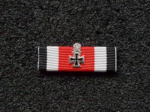 (A47-1) Ritterkreuz mit Eichenlaub und Schwerter Ordensspange Bandspange 40mm