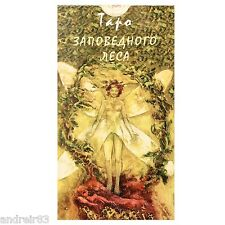 Tarot Cards of Protected Forest 78 cards + instruction Taro TC72