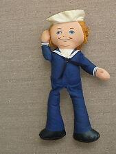 "Vintage 1974 Cracker Jack Cloth Doll 16"" Mattel Shoppin Pal Advertising"