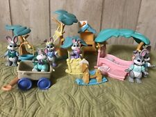 Fisher Price  Hideaway Hollow Figures Furniture Lot