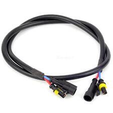 100 cm Xenon HID Light Ballast Haute Tension Extension Wire Harness Cable NCYG