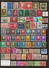 N°445- lot 80 timbres Pays Bas - dt tr.anciens -différents- oblitérés -bon état