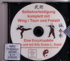 DVD Selbstverteidigung komplett mit  Wing Tsun Chun und Freistil - Enzyklopädie