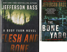 Complete Set Series - Lot of 10 Body Farm HARDCOVERS by Jefferson Bass Suspense