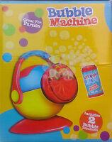 Bubble Machine - Let's Blow Bubbles - Birthday DJ Disco Party Bubbles Garden Toy