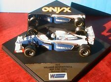 WILLIAMS RENAULT FW16 #5 TEST CAR 1995 DAMON HILL ONYX 231 1/43 FORMULA ONE F1