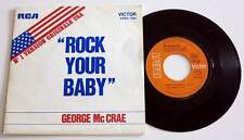 "GEORGE Mc CRAE : Rock Your Baby / Rock Your Baby Pt 2  7"" 45 SP vinyl FRANCE"