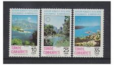 Turkey - 1983 Coastal Protection set - MNH - SG 2818/20
