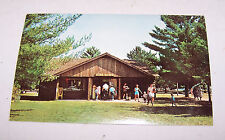 Vintage HARTWICK PINES STATE PARK Camp Park Store GRAYLING MICHIGAN Postcard