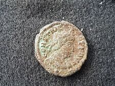 Roman coin of Constans nice uncleaned condition  found near Wigan Britain L44u