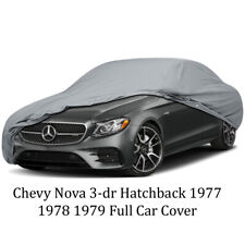 Chevy Nova 3-dr Hatchback 1977 1978 1979 Full Car Cover