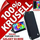 Krusell Malmo Custodia Flip Nera Cover Portafoglio Folio per Samsung Galaxy S5