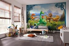 Murale Parete Photo carta da parati la buona dinosauro bambino Kids Room Decor DISNEY 368x254