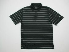Nike Polo Shirt Men's Black Dri-Fit Used Small