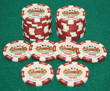 $100 Pro Vegas Casino Chips *Super High Quality* Poker Chip 11.5 Grams (QTY: 25)
