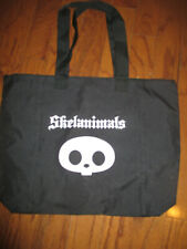 SKELANIMALS BLACK TOTE BAG -- 2008 VIP ALTERNATIVE PRESS VIP PARTY