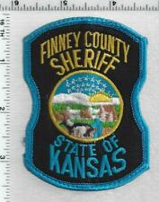 Finney County Sheriff (Kansas) 2nd Issue Uniform Take-Off Shoulder Patch
