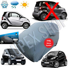 FUNDA PARA COCHE AFELPADO COMPATIBLE SMART FORTWO 98-14 IMPERMEABLE