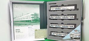 used KATO 10-437 motored model train 4 car set TOKYO JAPAN N scale USED