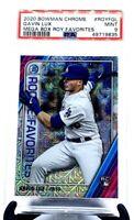 2020 Bowman Chrome Mega Box ROY Dodgers GAVIN LUX RC CARD PSA 9 MINT/PSA POP 36!