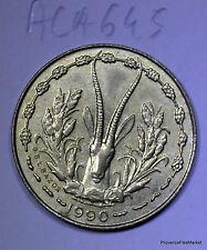 ETATS DE L'AFRIQUE DE L'OUEST  5 francs  1990 aca645
