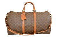 Louis Vuitton Monogram Keepall 50 Bandouliere Travel Bag Strap M41416 - YF00769