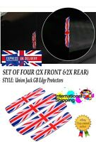 Union Jack GB England Flag Decal Sticker Car Door Anti Collision Edge Protectors