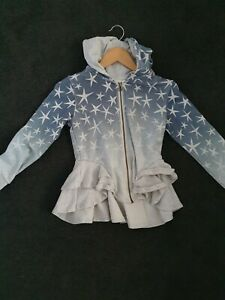 Paper Wings Bustle Hoodie Star Ombre Size 10