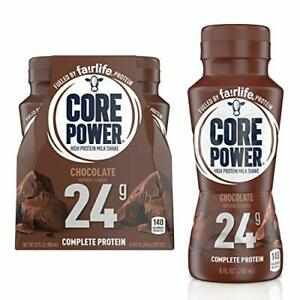 Core Power High Protein Shake Chocolate 8 Fl Oz Pack Of 4