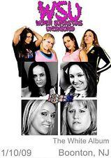 WSU Womens Wrestling - The White Album DVD Taylor Wilde Rain TNA