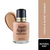 Revlon Touch and Glow Liquid Make Up, Natural Mist 20 ml - Free Ship