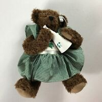 "Michigan State Spartans Plush Bear Jointed Cheerleader 10"" Stuffed Teddy Alumni"