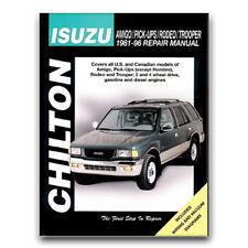 Chilton Repair Manual for 1991-2004 Isuzu Rodeo - Shop Service Garage Book lx
