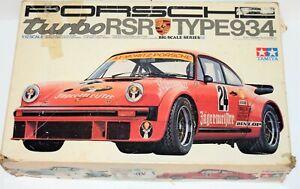Tamiya  1220 1/12 Porsche Turbo RSR 934 LARGE SCALE PLASTIC MODEL