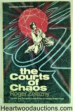 The Courts of Chaos by Roger Zelazny 1st Freff cvr- High Grade