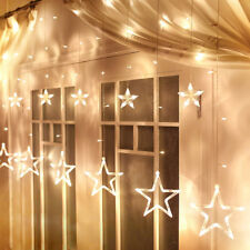 Twinkling Stars Fairy String Light Lamp for Bedroom Window Party Christmas Decor