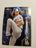 2020 Topps Chrome Dustin May #176 Rookie Card Los Angles Dodgers E9