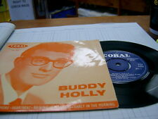uk coral ep buddy holly 4 track single vinyl record