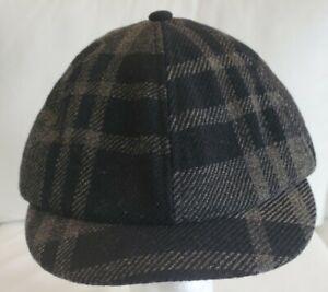 RRL RALPH LAUREN DOUBLE RL English Style Mens Wool Newsboy Cap Size S NWT