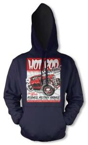 HOTROD SHOOTOUT CLASSIC CAR RACER ENGINE HOODIE HOODY KIDS