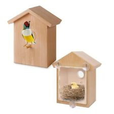 US Pet Bird Home Window Birdhouse Suction Cup Bird Feeding Nest for Garden Bird