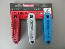 Craftsman Hex Key Set 46705 SAE Metric Torx Made in USA
