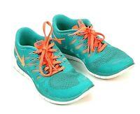 Nike Free 5.0 Running Shoes 642199-301 Hyper Jade Turquoise Women's Size 9 M