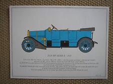 ALFA ROMEO 20/30 HP SERIE E 1910 PORTFOLIO SCALA 1/18 SOFAR 1963 F. DALLEGRET