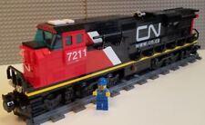 Lego Train Custom Canadian National ES44ac - PLEASE READ ITEM DESCRIPTION