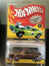 2007 Hot Wheels RLC Neo Classics 68 Chevy El Camino Brown w Flames Series 6