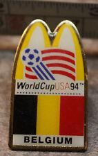 McDonalds Belgium World Cup USA 1994 94 Soccer Collectible Pinback Pin Button