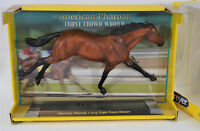 BREYER THOROUGHBRED RACE HORSE AMERICAN PHAROAH RACE HORSE TRIPLE CROWN,1757 NIB