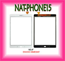 VITRE ECRAN TACTILE Samsung Galaxy Tab E 9.6 SM-T560 T560 T561 BLANC LOGO